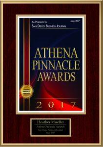 Athena Pinnacle Award
